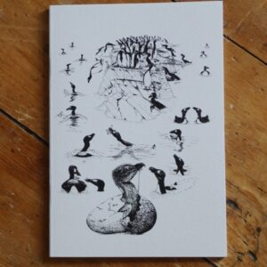 Great Auk A5 Sketchbook