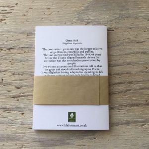 Great auk pocket notebook