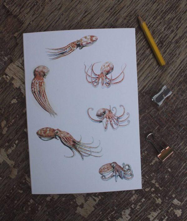 Octopus A5 Notebook