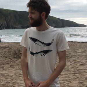 minke whale t-shirt