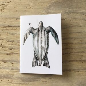 Leatherback Turtle Pocket Notebook