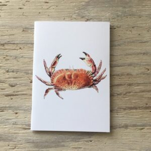 Edible Crab Pocket Notebook