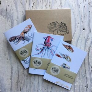Cephalopods Pocket Notebook Gift Set