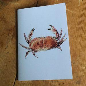 Edible Crab Pocket Notebook