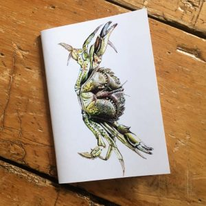 Shore Crab Pocket Notebook