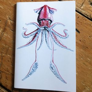 Flying Squid Pocket Notebook
