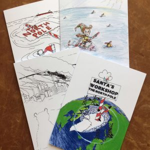 Protect the Arctic Art Cards
