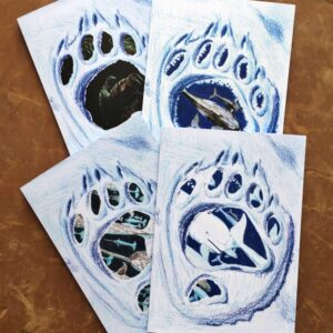 On Thin Ice Art Cards