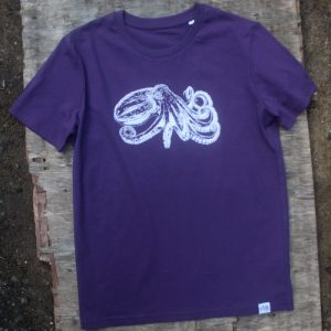 Curled Octopus T-shirt