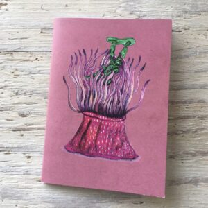 Strawberry Anemone Pocket Notebook