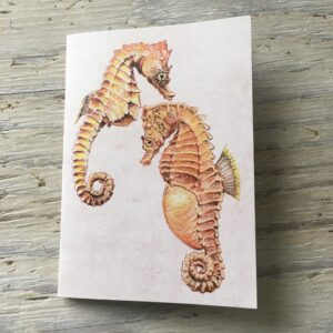 Short Snouted Seahorse Pocket Notebook
